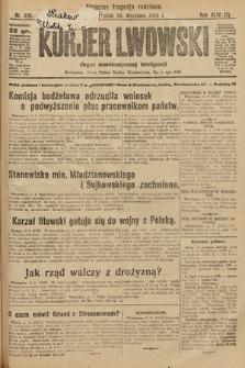 Kurjer Lwowski : organ demokratycznej inteligencji. 1926, nr221