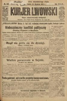 Kurjer Lwowski : organ demokratycznej inteligencji. 1926, nr222
