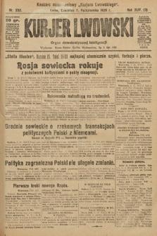 Kurjer Lwowski : organ demokratycznej inteligencji. 1926, nr232