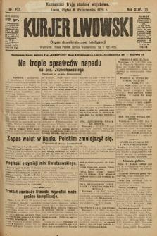 Kurjer Lwowski : organ demokratycznej inteligencji. 1926, nr233