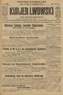 Kurjer Lwowski : organ demokratycznej inteligencji. 1926, nr235
