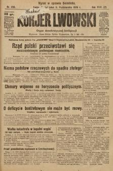 Kurjer Lwowski : organ demokratycznej inteligencji. 1926, nr236