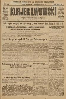 Kurjer Lwowski : organ demokratycznej inteligencji. 1926, nr237