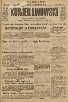 Kurjer Lwowski : organ demokratycznej inteligencji. 1926, nr239