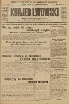 Kurjer Lwowski : organ demokratycznej inteligencji. 1926, nr240