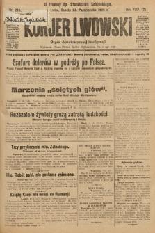 Kurjer Lwowski : organ demokratycznej inteligencji. 1926, nr246