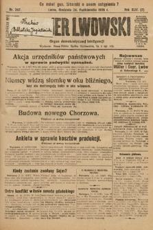 Kurjer Lwowski : organ demokratycznej inteligencji. 1926, nr247