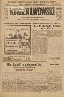 Kurjer Lwowski : organ demokratycznej inteligencji. 1926, nr248