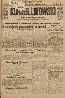 Kurjer Lwowski : organ demokratycznej inteligencji. 1926, nr250