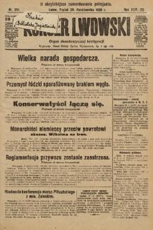Kurjer Lwowski : organ demokratycznej inteligencji. 1926, nr251