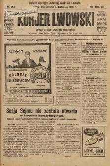 Kurjer Lwowski : organ demokratycznej inteligencji. 1926, nr254