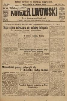 Kurjer Lwowski : organ demokratycznej inteligencji. 1926, nr255