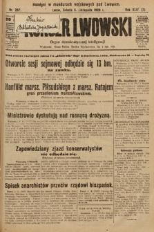 Kurjer Lwowski : organ demokratycznej inteligencji. 1926, nr257