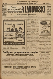 Kurjer Lwowski : organ demokratycznej inteligencji. 1926, nr259