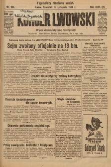Kurjer Lwowski : organ demokratycznej inteligencji. 1926, nr261