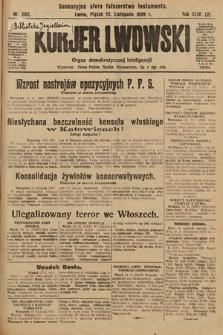 Kurjer Lwowski : organ demokratycznej inteligencji. 1926, nr262