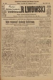 Kurjer Lwowski : organ demokratycznej inteligencji. 1926, nr267