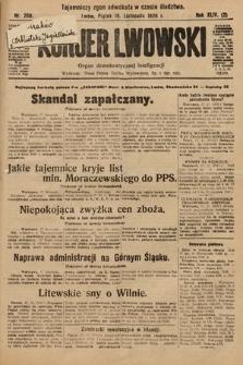 Kurjer Lwowski : organ demokratycznej inteligencji. 1926, nr268