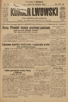Kurjer Lwowski : organ demokratycznej inteligencji. 1926, nr269