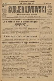 Kurjer Lwowski : organ demokratycznej inteligencji. 1926, nr278
