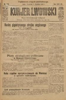 Kurjer Lwowski : organ demokratycznej inteligencji. 1926, nr279
