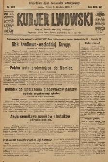 Kurjer Lwowski : organ demokratycznej inteligencji. 1926, nr280