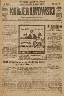 Kurjer Lwowski : organ demokratycznej inteligencji. 1926, nr283