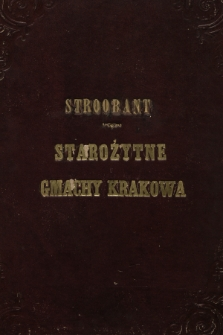Starożytne gmachy Krakowa