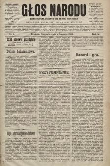 Głos Narodu : dziennik polityczny, założony w roku 1893 przez Józefa Rogosza (wydanie poranne). 1902, nr4