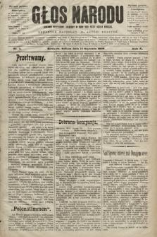 Głos Narodu : dziennik polityczny, założony w roku 1893 przez Józefa Rogosza (wydanie poranne). 1902, nr8