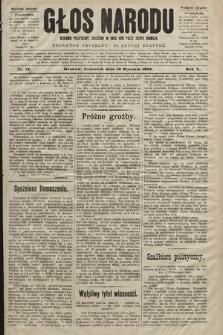 Głos Narodu : dziennik polityczny, założony w roku 1893 przez Józefa Rogosza (wydanie poranne). 1902, nr12