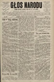 Głos Narodu : dziennik polityczny, założony w roku 1893 przez Józefa Rogosza (wydanie poranne). 1902, nr14