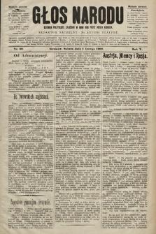 Głos Narodu : dziennik polityczny, założony w roku 1893 przez Józefa Rogosza (wydanie poranne). 1902, nr26