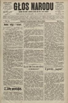 Głos Narodu : dziennik polityczny, założony w roku 1893 przez Józefa Rogosza (wydanie poranne). 1902, nr54