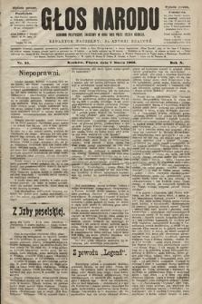 Głos Narodu : dziennik polityczny, założony w roku 1893 przez Józefa Rogosza (wydanie poranne). 1902, nr55
