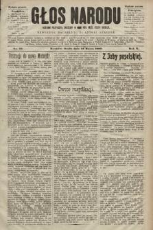 Głos Narodu : dziennik polityczny, założony w roku 1893 przez Józefa Rogosza (wydanie poranne). 1902, nr59