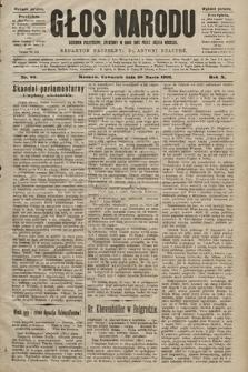 Głos Narodu : dziennik polityczny, założony w roku 1893 przez Józefa Rogosza (wydanie poranne). 1902, nr66
