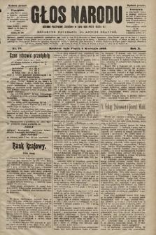 Głos Narodu : dziennik polityczny, założony w roku 1893 przez Józefa Rogosza (wydanie poranne). 1902, nr78