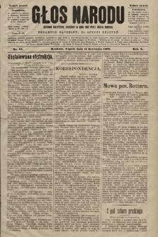 Głos Narodu : dziennik polityczny, założony w roku 1893 przez Józefa Rogosza (wydanie poranne). 1902, nr83