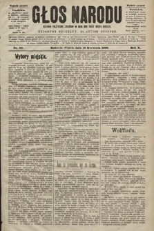 Głos Narodu : dziennik polityczny, założony w roku 1893 przez Józefa Rogosza (wydanie poranne). 1902, nr89