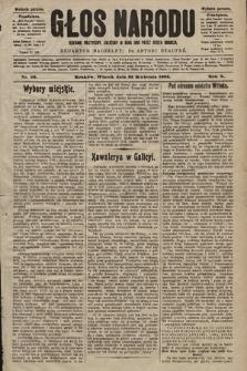 Głos Narodu : dziennik polityczny, założony w roku 1893 przez Józefa Rogosza (wydanie poranne). 1902, nr92