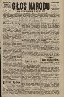 Głos Narodu : dziennik polityczny, założony w roku 1893 przez Józefa Rogosza (wydanie poranne). 1902, nr93