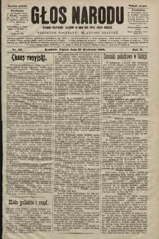 Głos Narodu : dziennik polityczny, założony w roku 1893 przez Józefa Rogosza (wydanie poranne). 1902, nr95