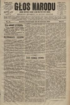 Głos Narodu : dziennik polityczny, założony w roku 1893 przez Józefa Rogosza (wydanie poranne). 1902, nr97