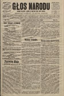 Głos Narodu : dziennik polityczny, założony w roku 1893 przez Józefa Rogosza (wydanie poranne). 1902, nr100