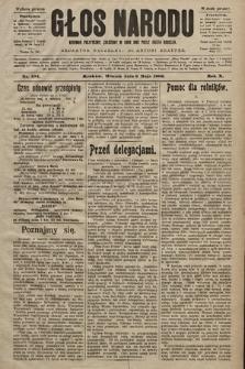 Głos Narodu : dziennik polityczny, założony w roku 1893 przez Józefa Rogosza (wydanie poranne). 1902, nr104
