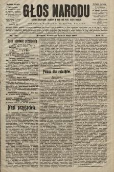 Głos Narodu : dziennik polityczny, założony w roku 1893 przez Józefa Rogosza (wydanie poranne). 1902, nr106