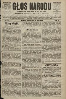 Głos Narodu : dziennik polityczny, założony w roku 1893 przez Józefa Rogosza (wydanie poranne). 1902, nr107
