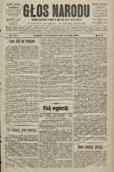 Głos Narodu : dziennik polityczny, założony w roku 1893 przez Józefa Rogosza (wydanie wieczorne). 1902, nr107