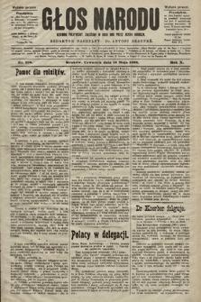 Głos Narodu : dziennik polityczny, założony w roku 1893 przez Józefa Rogosza (wydanie poranne). 1902, nr110